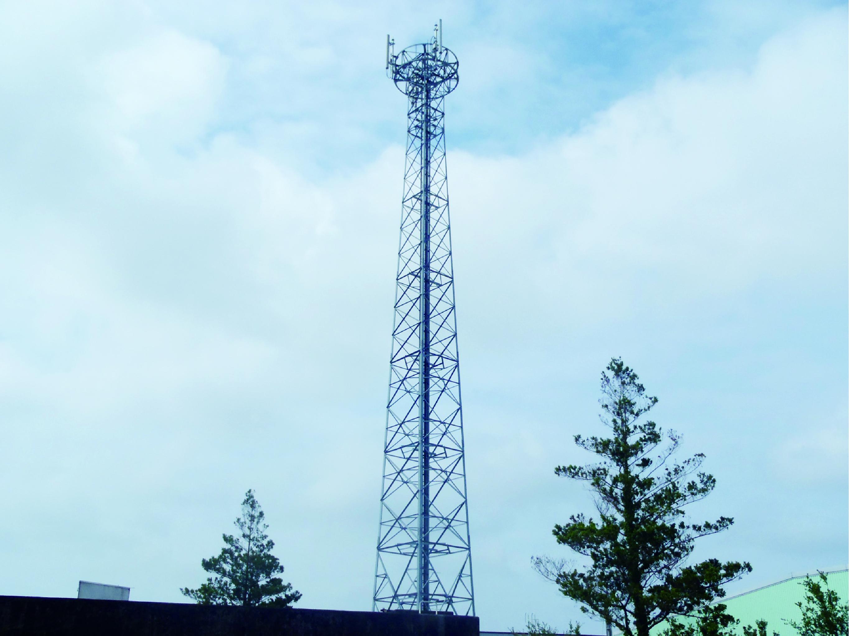 携帯基地局設置工事